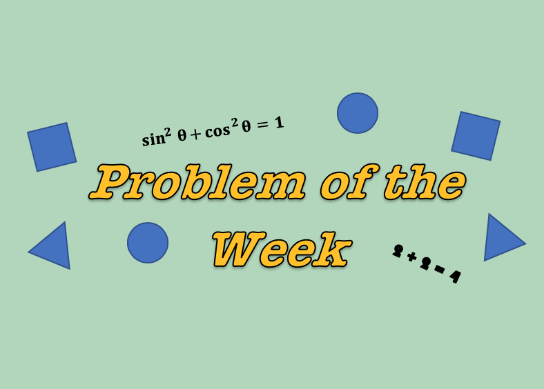 Problem of the Week (21)